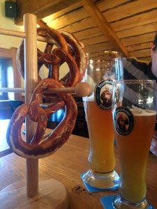 Традиционная немецкая выпечка брецель