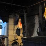 Кухня замка Марксбург с макетами еды