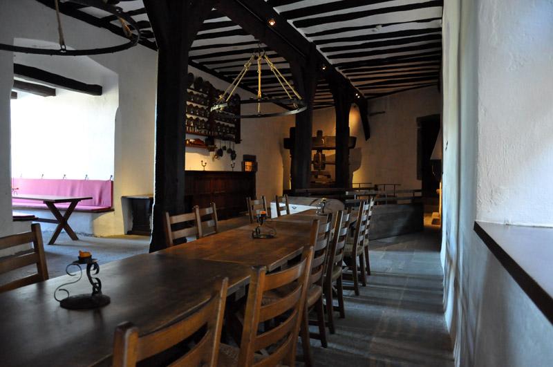 Среднвековая кухня в замке Марксбург