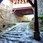 Каменная лестница для всадников