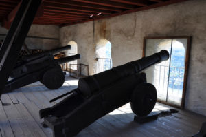 Пушечные батареи времн Тридцатилетней войны