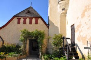 Средневековый огород трав в замке Марксбург