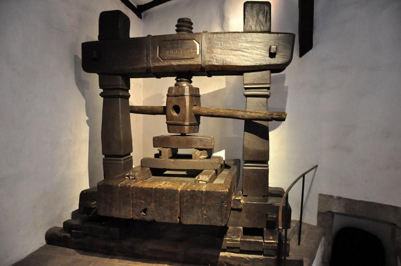 Винный пресс 1768 года, Марксбург