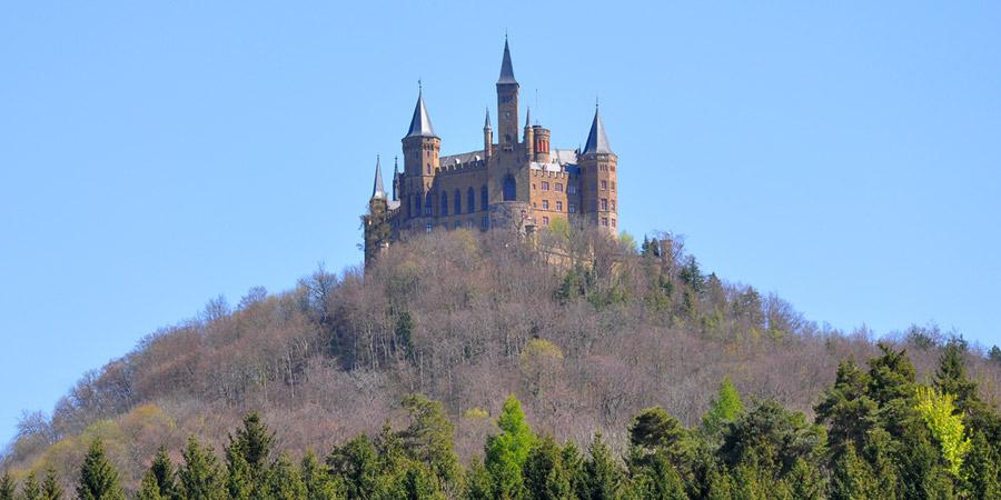 Гогенцоллерн замок в облаках