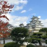 Замок Химеджи в Японии