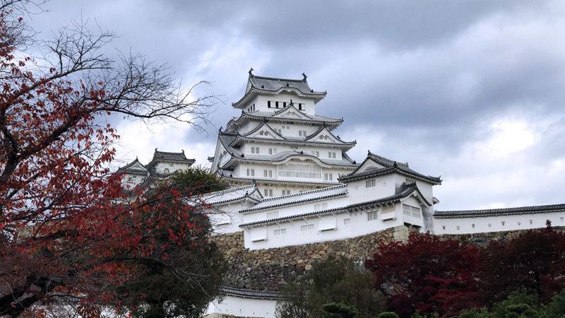 Замок Химедзи в Японии