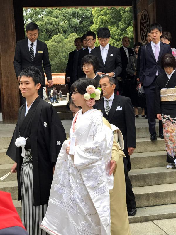 Японская традиционная свадьба
