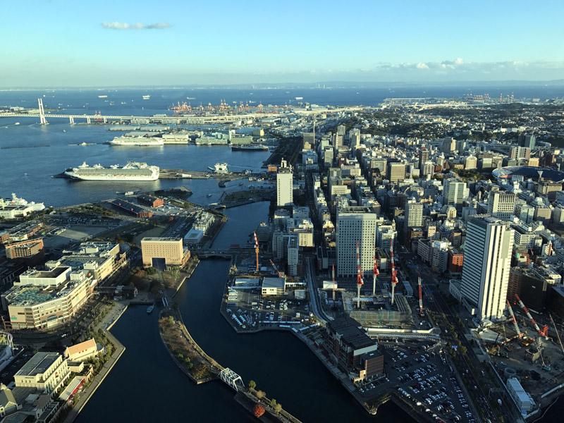 Йокогама - порт будущего