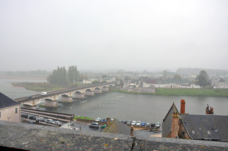 Вид на Луару со стен замка Амбуаз