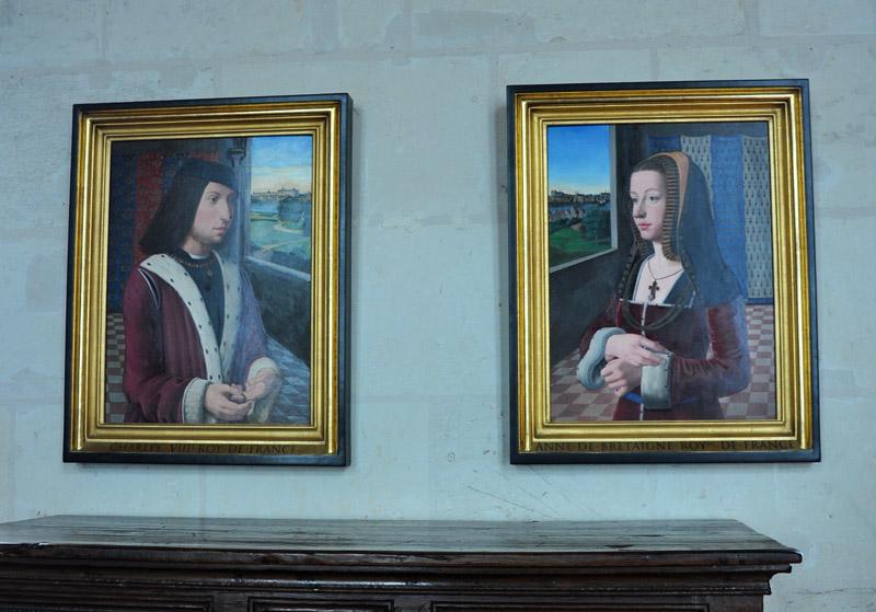 Карл VIII и Анна Бретонская