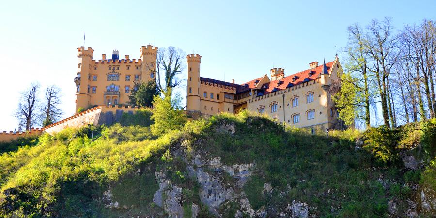 Замок Хоэшвангау в Баварии