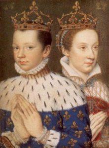 Дофин Франциск II и Мария Стюарт