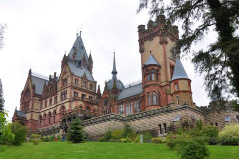 Замок Драхенбург Вестфалия