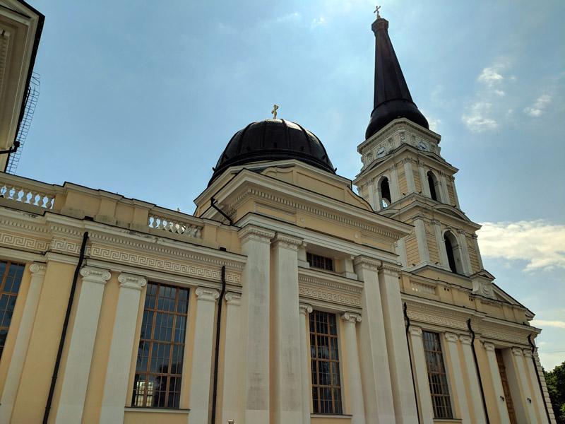 Спасо-Преображенский собор Одесса