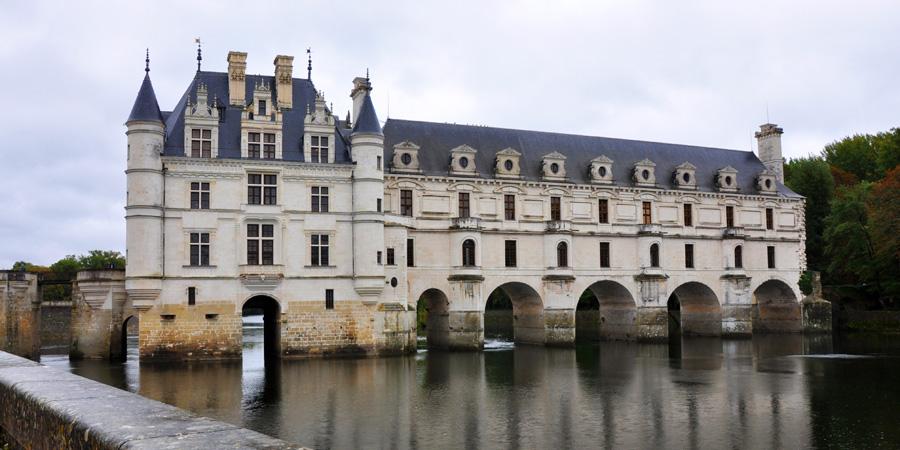 Шенонсо замок Дам во Франции