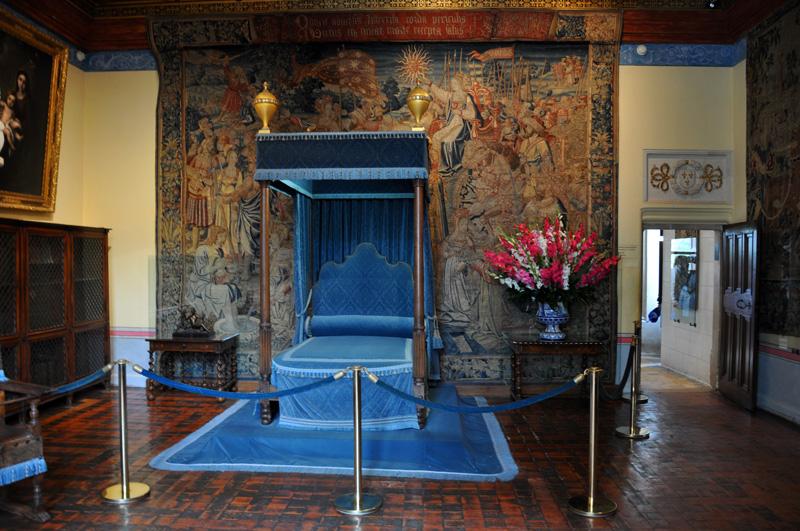 Спальня Дианы де Пуатье в замке Шенонсо