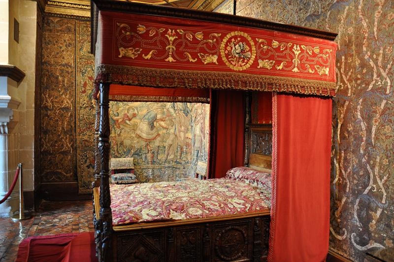 Спальня Екатерины Медичи