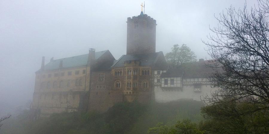 Легендарный замок Вартбург