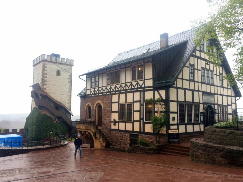 Внутренний двор Вартбурга