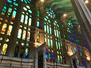 Sagrada Familia витражи