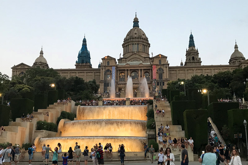 Национальный дворец Барселона