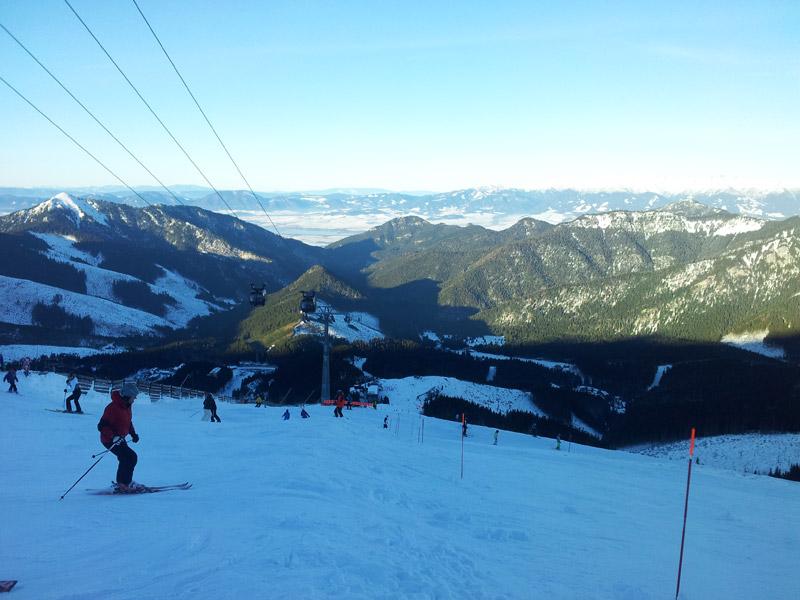 Ясна лучший горнолыжный курорт Словакии