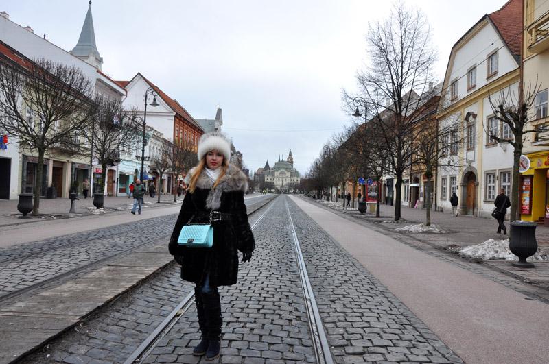Главная улица Кошице