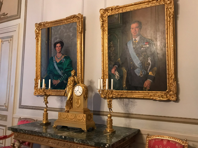 Король Карл XVI Густав и королева Сильвия