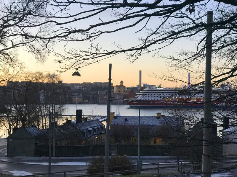 Паром Viking в Стокгольме