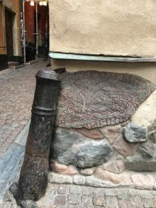 Рунический камень Стокгольм