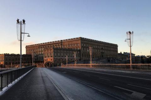 Королевский дворец в Стокгольме