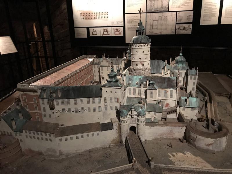 Макет замка Тре Круно